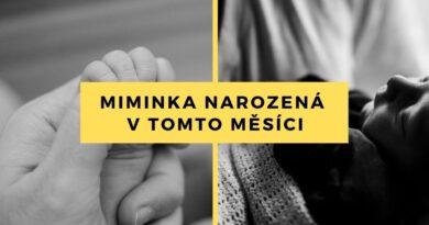 Miminka narozená v Nemocnici Šumperk v říjnu 2020